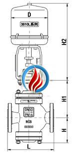 电动双座调节阀 (金属硬密封结构)