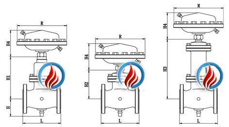 自力式流量调节阀 外形图图片